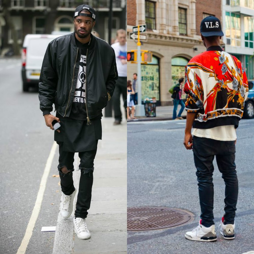 men trends 2017 Bomber jacket