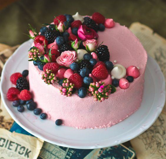 deco gateau fruit