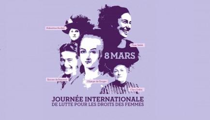 8 Mars Journée internationale des droits des femmes cover