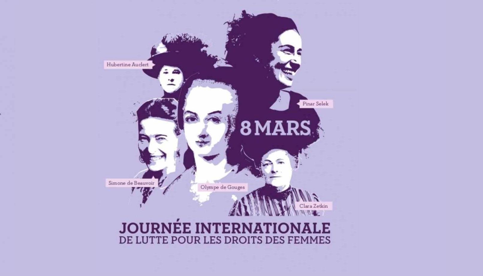 8 Mars: Journée internationale des droits des femmes