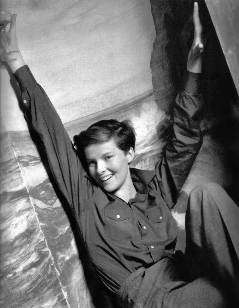 Katharine Hepburn daring trousers