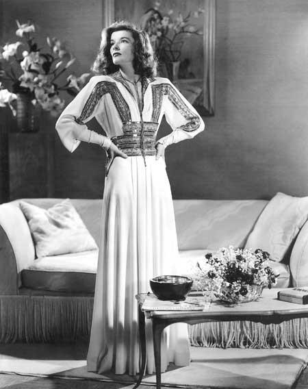 Katharine Hepburn gown