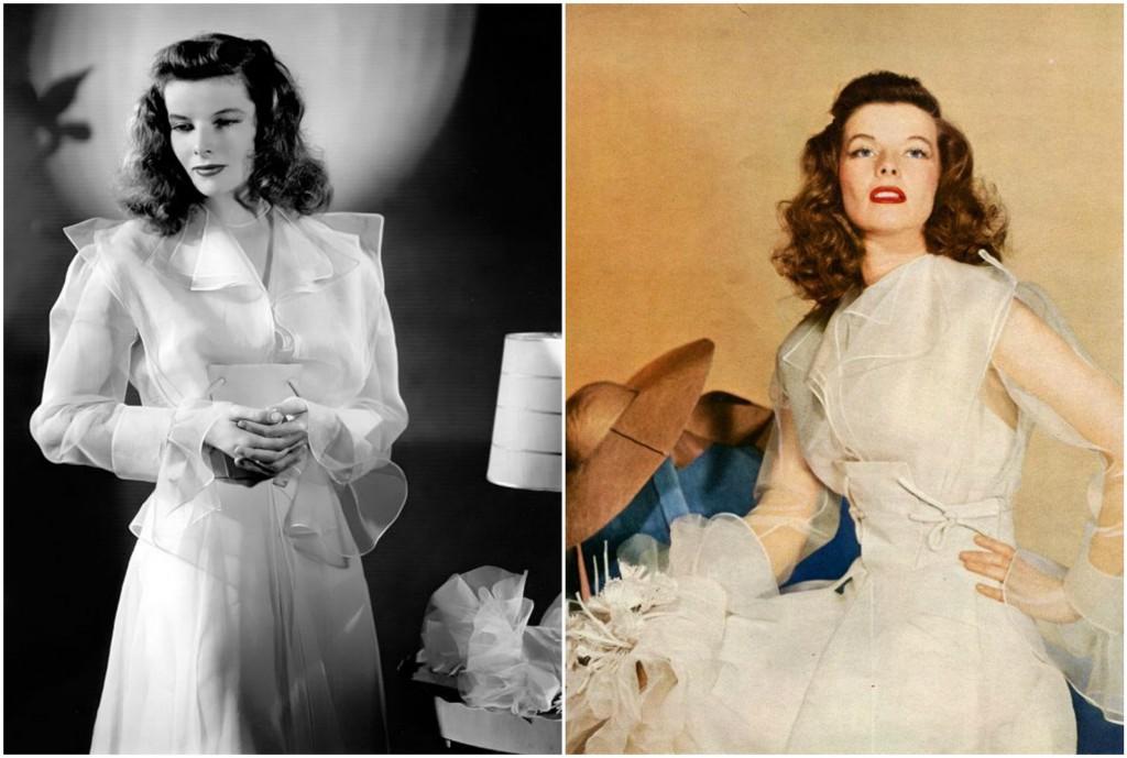 Katharine Hepburn wedding dress