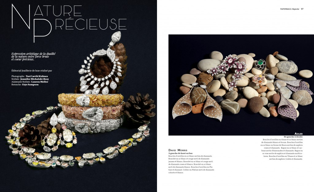 PAPERBAGG magazine Issue N°2 Nature Précieuse Editorial 1