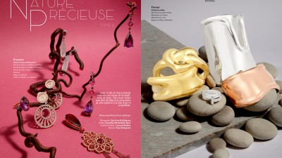 Nature Précieuse | Editorial Joaillerie de luxe