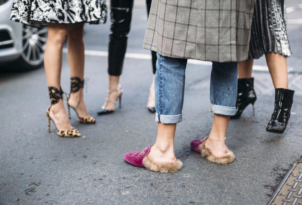 صيحات الأحذية لربيع/صيف 2017