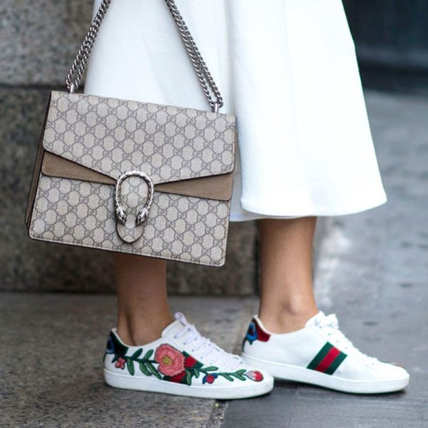 shoe trends SS17 embroided sneakers