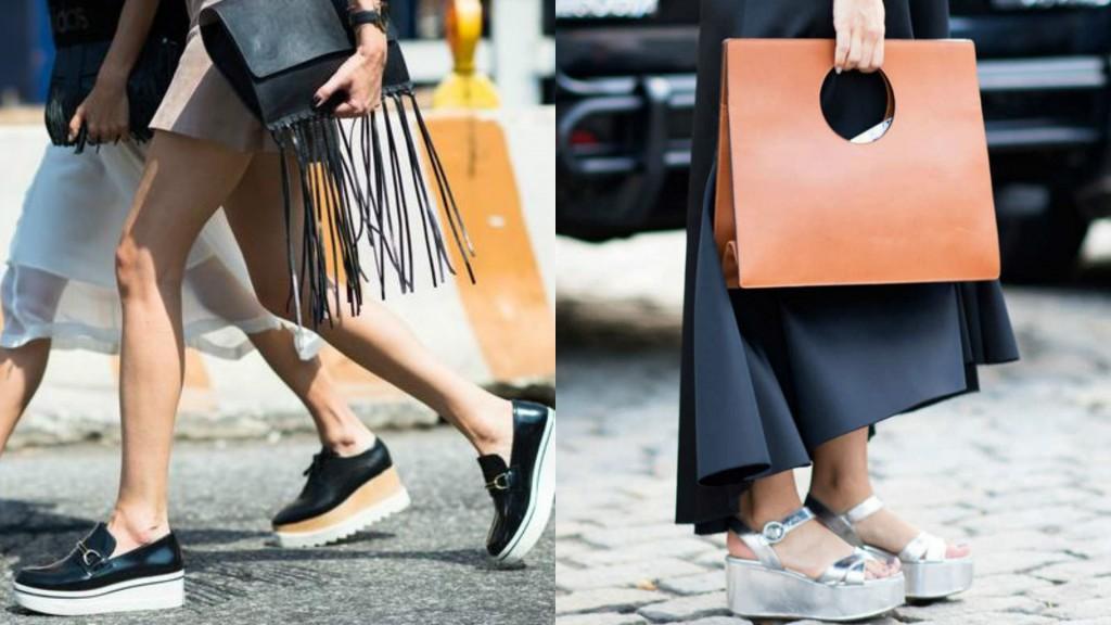 shoe trends SS17 platforms