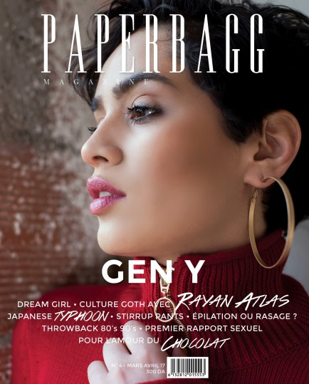 PAPERBAGG MAGAZINE N°4 COUVERTURE MOUNIA 2