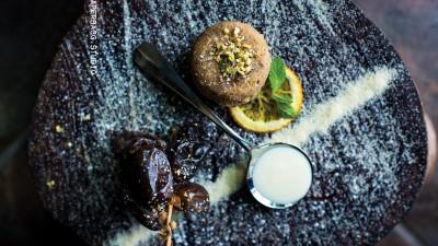 Sellou au miel, amandes et noix