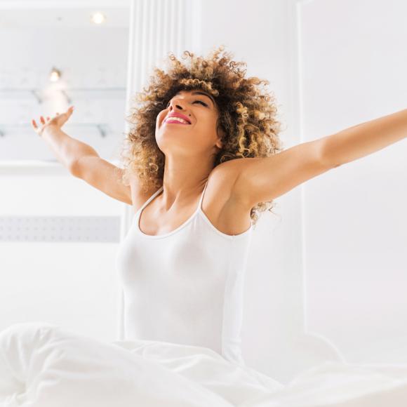 Zen attitude au réveil
