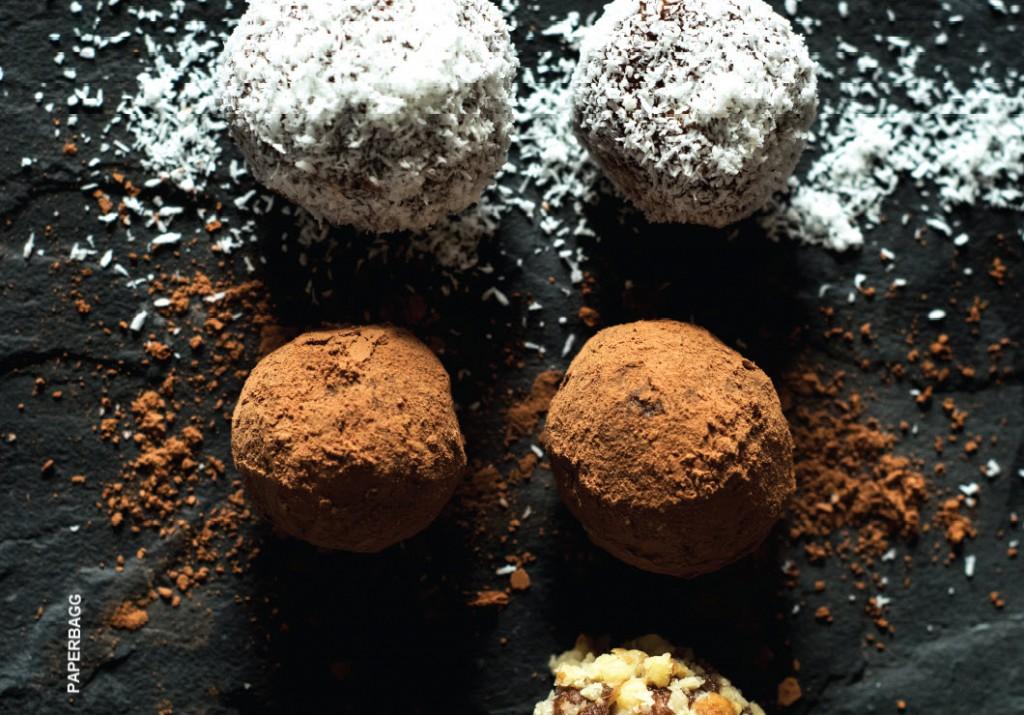 Boules Chocolat et Dattes détails
