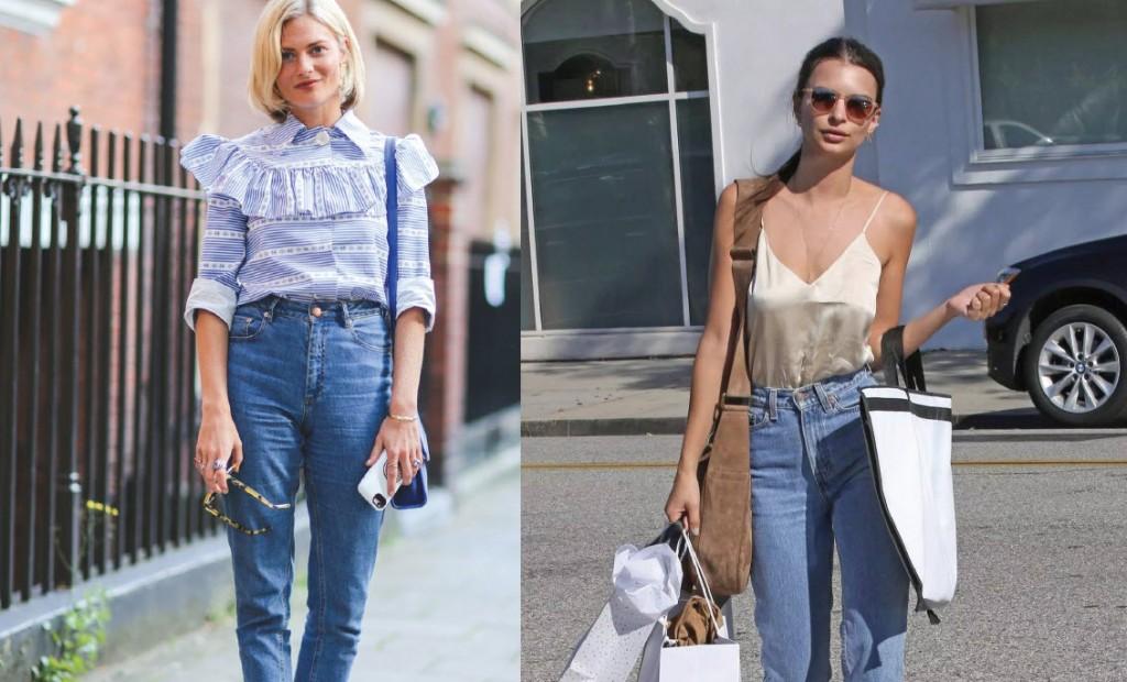 Les 90s sont de retour Mom jeans
