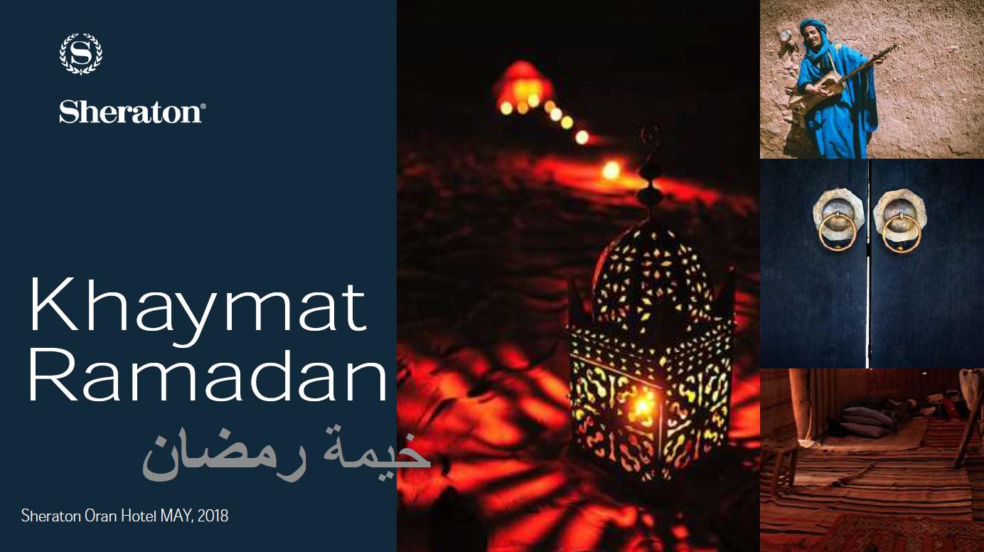 Bon plan sorties ramadanesques   Khaymat Ramadan by Sheraton Oran