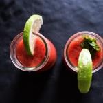 Fresh Drink Mojito à la Fraise