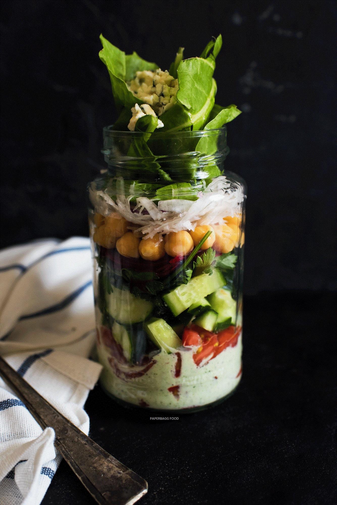 À emporter | Salade en Jarre