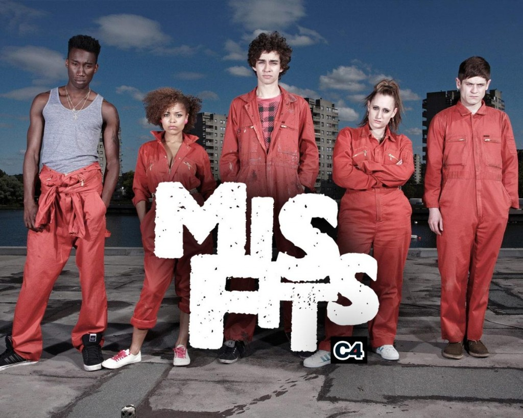 must Watch Séries British Edition Misfits