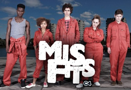 must Watch Séries British Edition Misfits cover