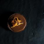 Tarte au chocolat noir et à l'orange