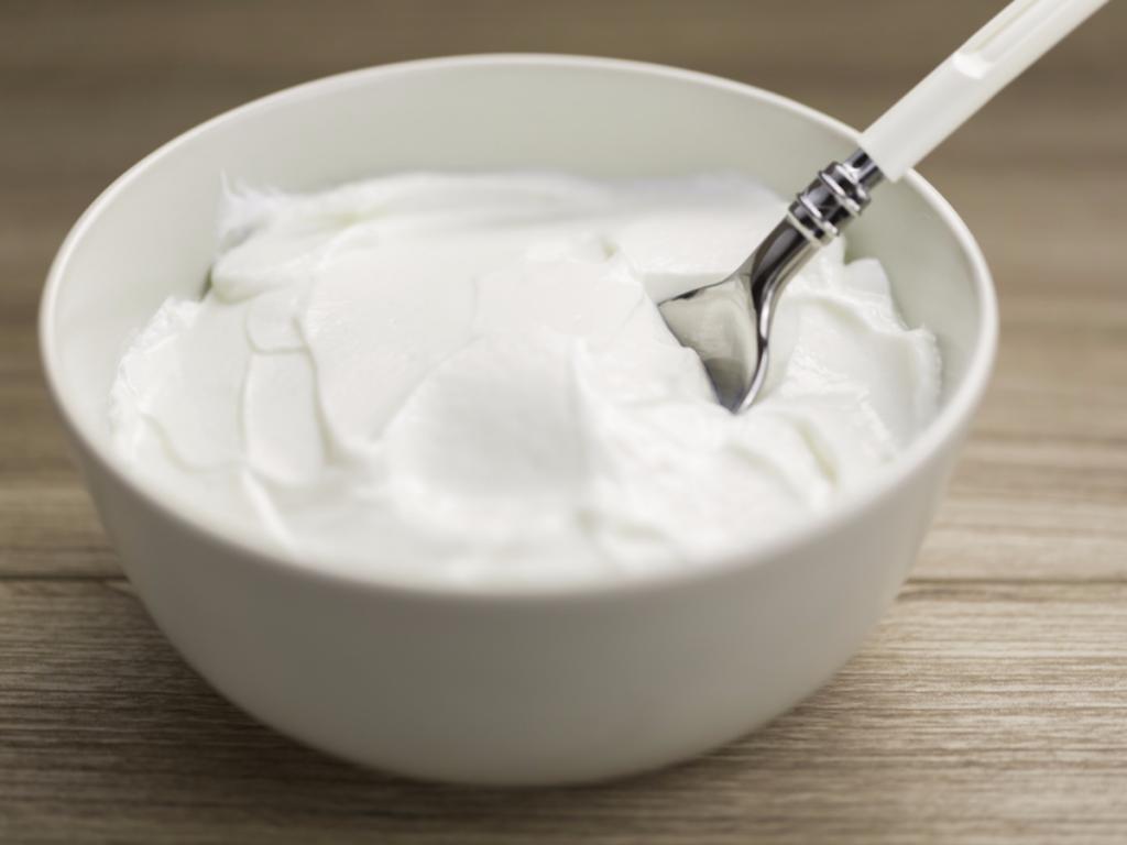coup de soleil yaourt