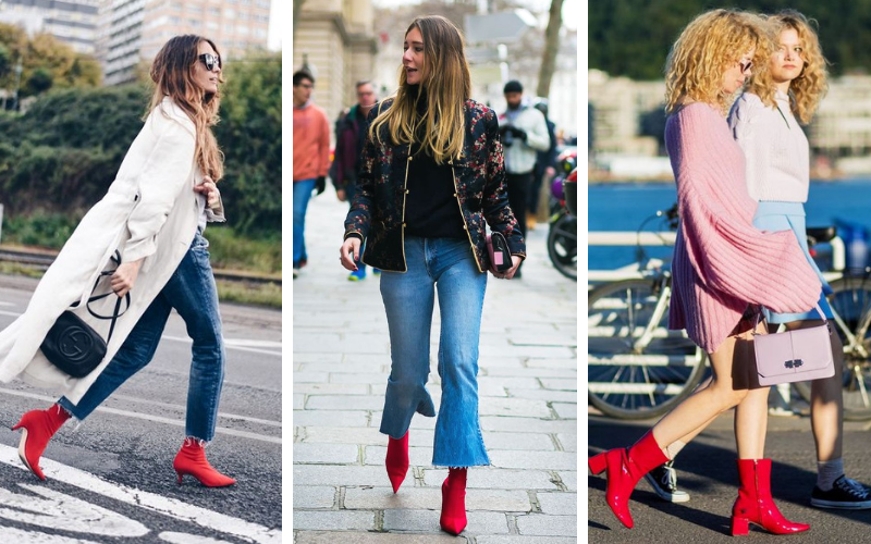 Red Boots Must have de l'hiver (1)