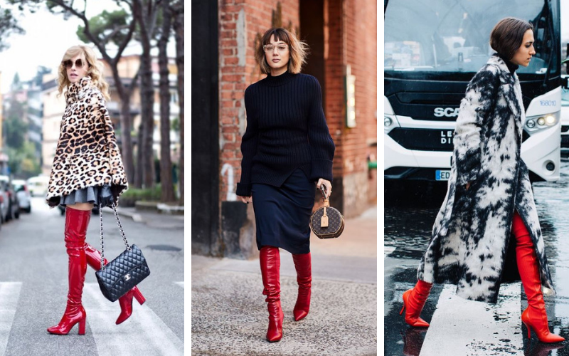 Red Boots Must have de l'hiver (2)