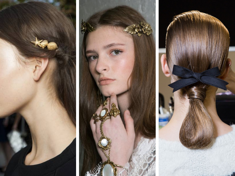 3 Hairstyles à adopter sans attendre Ornements capillaires