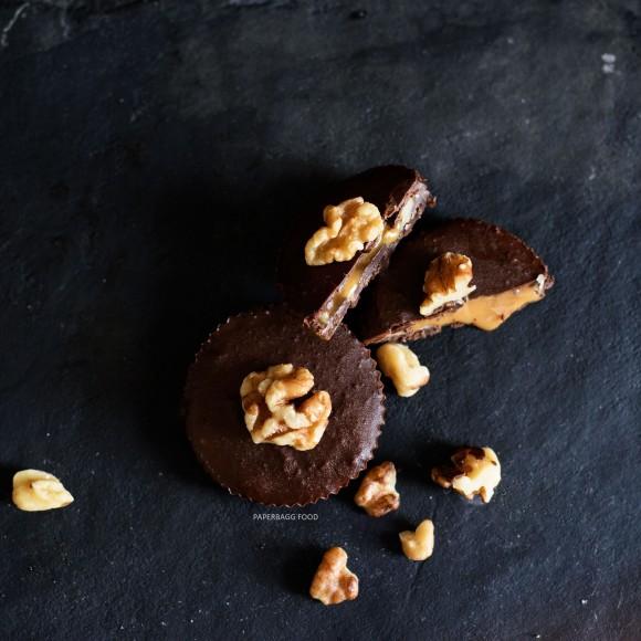 Chocolat fourré au caramel